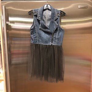 Guess Jean and Tulle Vest